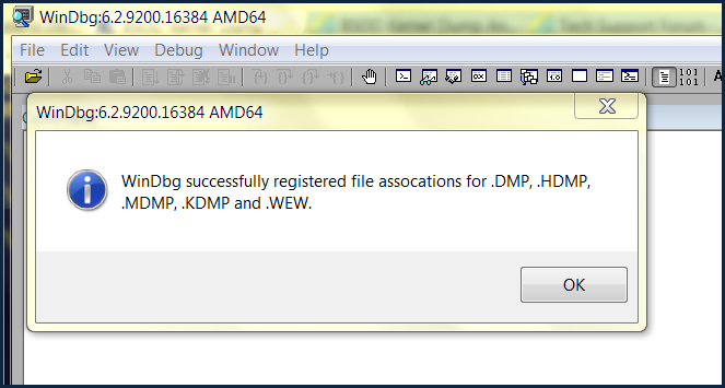 2  Register Windbg for Dump Files (File Associations) | Sysnative Forums